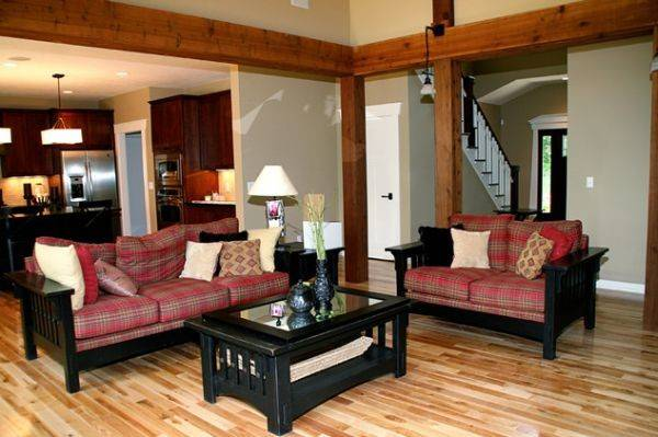Make Tartan Work Living Room