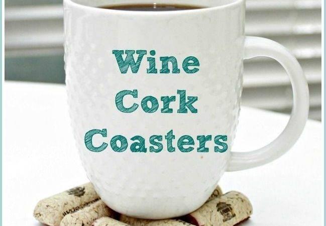 Make Wine Cork Coasters Tutorial Mom Real