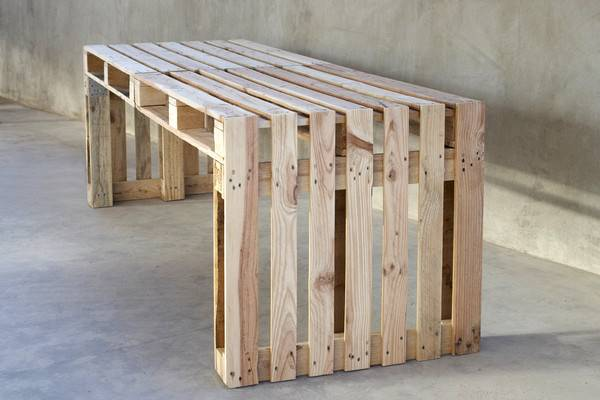 Make Your Own Furniture Using Pallets Wood Dining Table Design