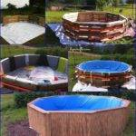 Make Your Own Pallet Pool Beat Heat Splash Around