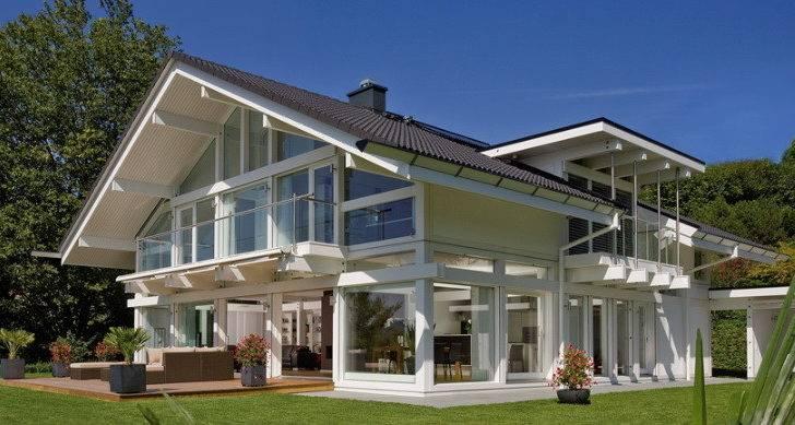 Makes Luxury Homes Prefab Huf Haus Prefabricated Home