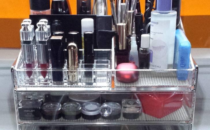 Makeup Organization Frontgate Ava Acrylic Organizer Review Photos