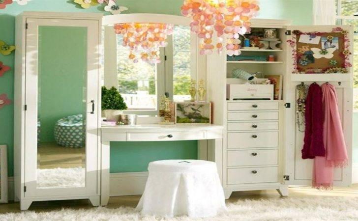 Makeup Table Girls Vanity Storage Ideas Ikea