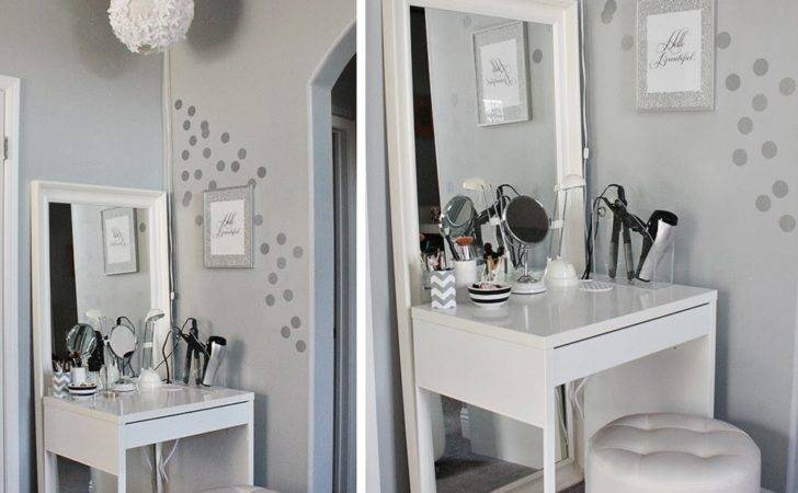 Makeup Vanity Table Design Ikea Square