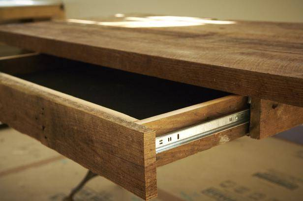 Making Build Desk Drawers Threesome