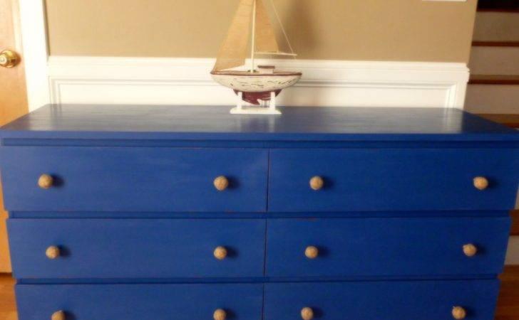 Malm Drawer Dresser Goes Nautical Ikea Hackers