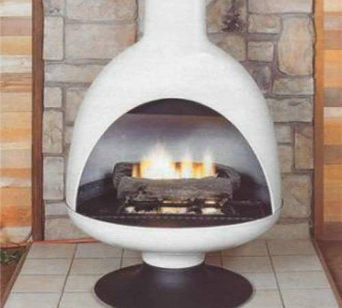 Malm Fireplaces Fire Drum Freestanding Gas Fireplace Unit