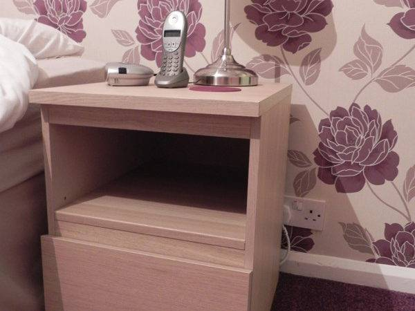 Malm Nightstand Shelf Conversion Two Becomes One Ikea Hackers
