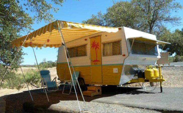Man Rehabs Old Travel Trailer Into Diy Tiny House Travels