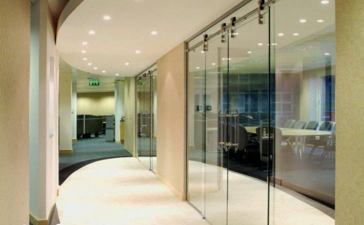 Manet Style Frameless Glass Sliding Doors