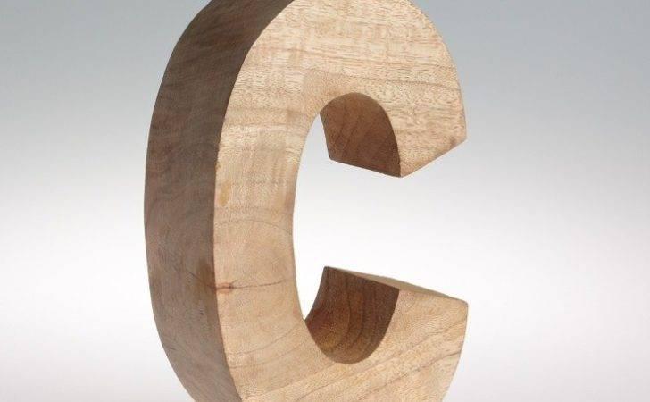 Mango Wooden Items Seemed Alphabet Soup Letters