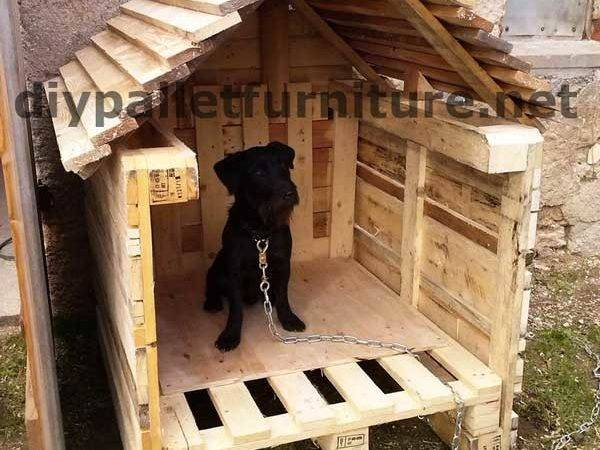 Manou Dog House Palletsdiy Pallet Furniture Diy