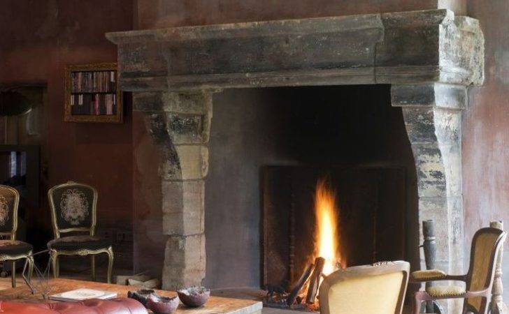 Mantels Fireplaces Interiors Open Fire Places