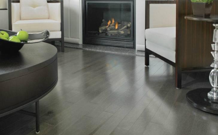 Maple Hardwood Floors Charcoal Stain