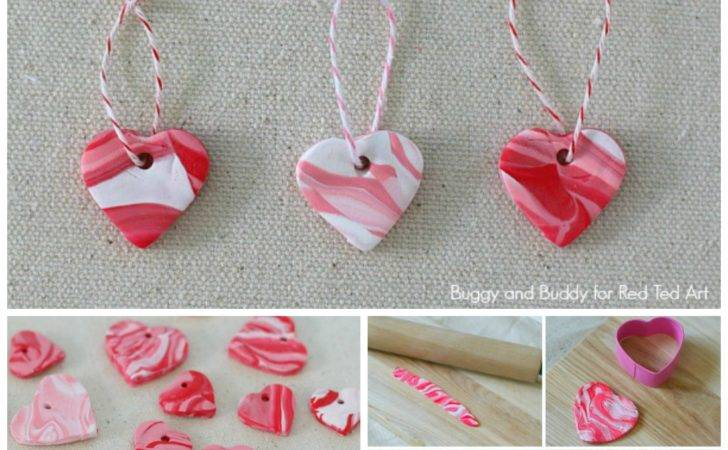 Marble These Heart Charms Cute Easy Make