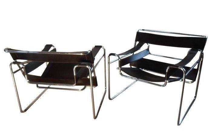 Marcel Breuer Set Van Twee Wassily Chairs Replica Catawiki