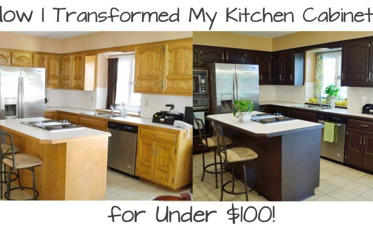 Marvelous Make Old Wood Cabinets Look New