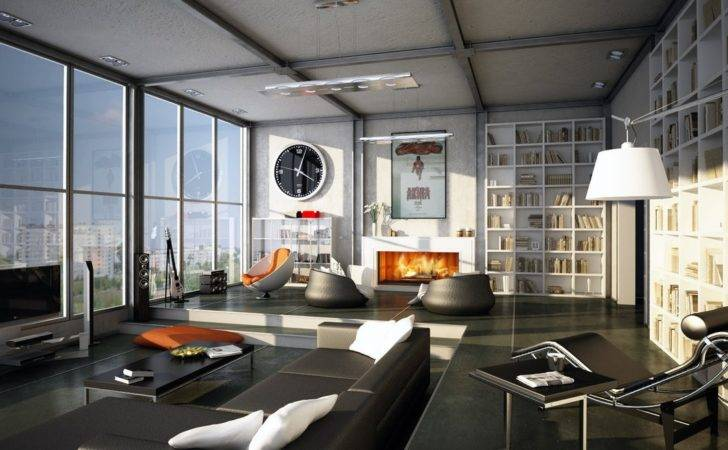 Masculine Interior Design Home Designing