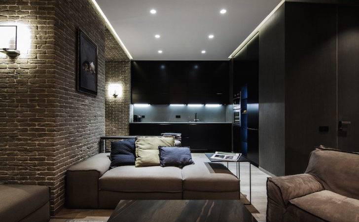 Masculine Interiors Bold Details Great Lighting Design