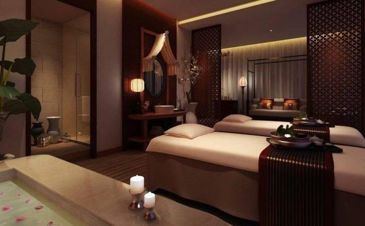Massage Room Interior Design Spa Spas Rooms Luxury