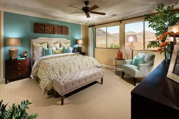 Master Bedroom Accent Wall Color Interiors Pinterest