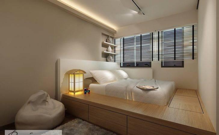 Master Bedroom Platform Bed Design Which Not Only Serves