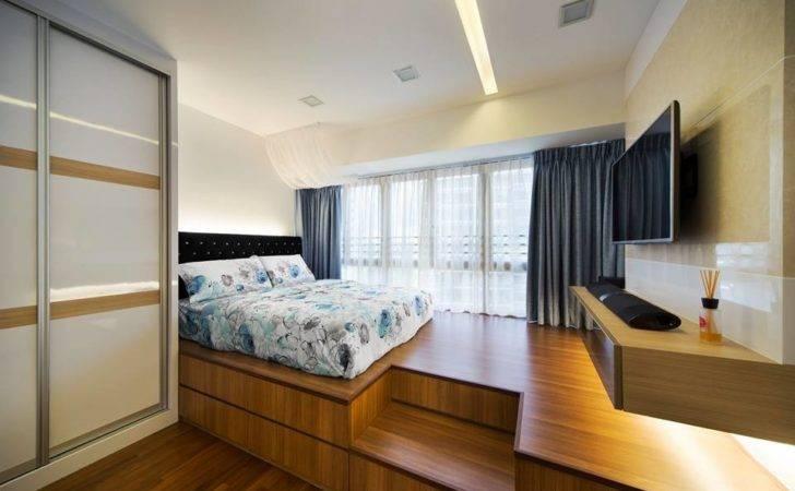 Master Bedroom Same Trick Platform Beds
