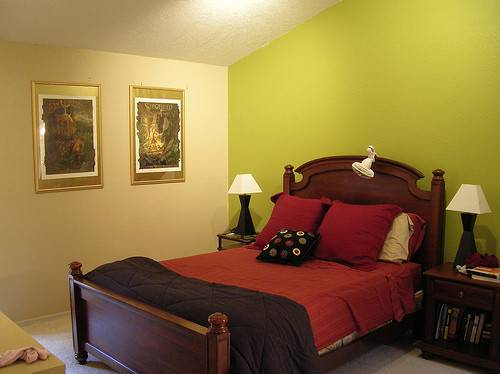 Master Bedroom Wall Paint Color Furthermore Accent