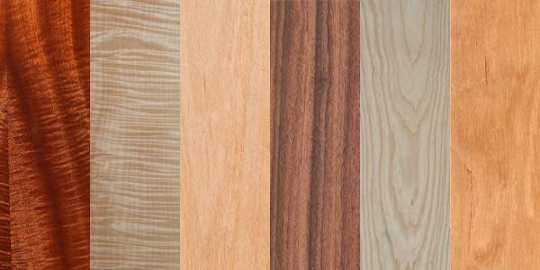 Matelic All Different Types Wood