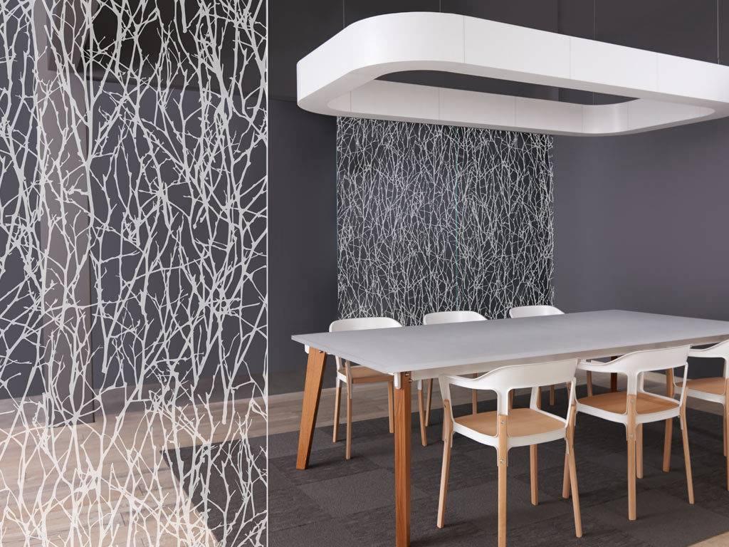 Materials Infinite Glass Pattern Etch Form