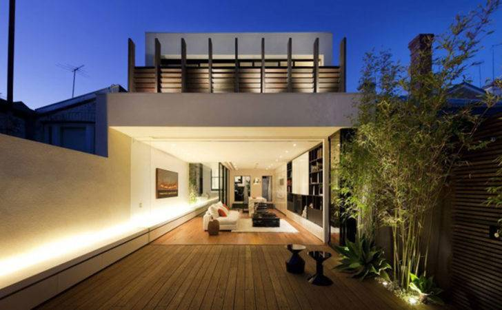 Matt Gibson Architecture Design Melbourne Terrace Living Space