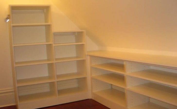 Maximizing Slanted Ceiling Storage Space Decor Other Pinterest