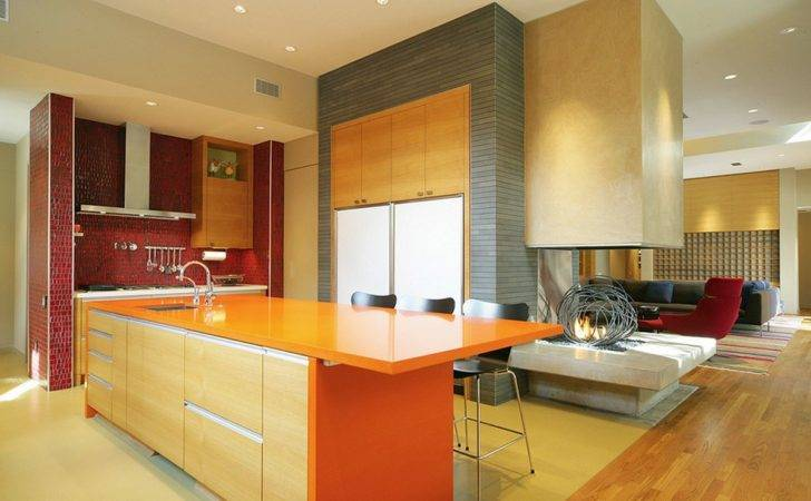 May Not Know Adding Color Your Boring Kitchen Freshome