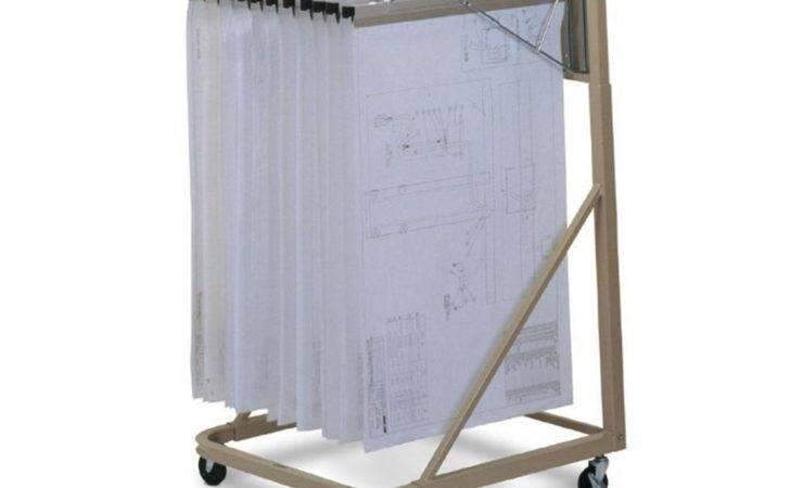 Mayline Mobile Plan Rack Hangers Tiger Supplies