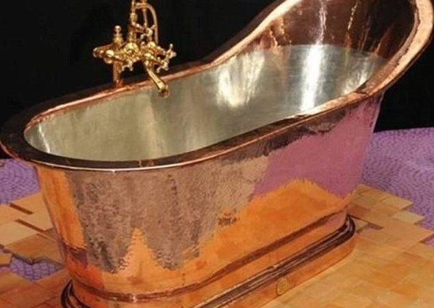Mayor Bloomberg Imports Gigantic Copper Bathtub Took