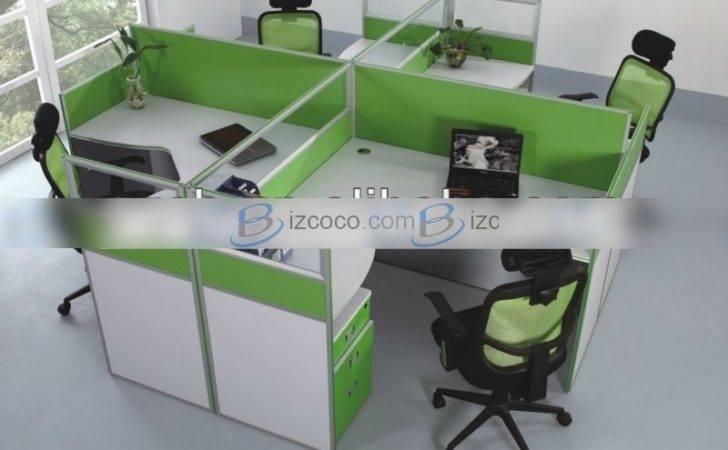 Mdf Board Person Workstation Office Desk China Manufacturer