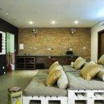 Media Room Basement Remodeling Ideas Large