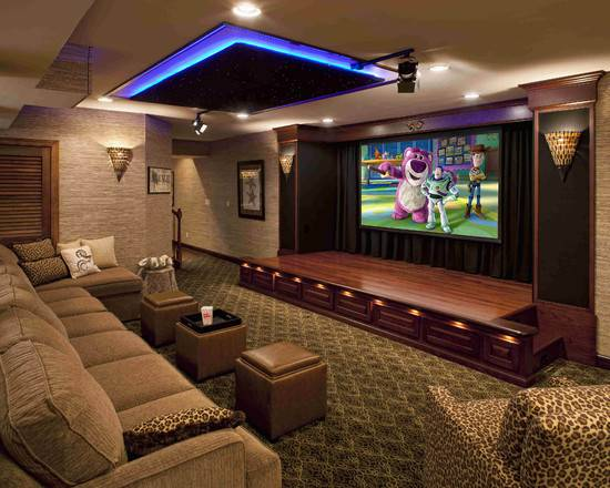 Media Room Design Ideas Home Rooms Small