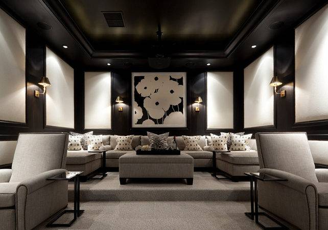 Media Room Design Ideas Paint Color