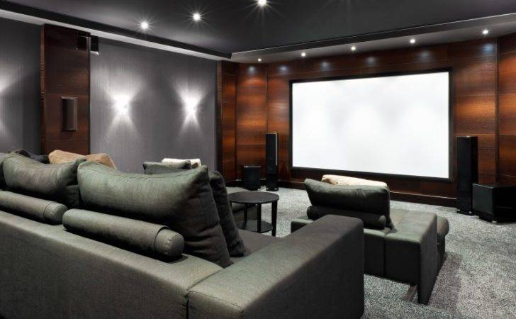 Media Room Design Ideas Showing Interior Luxury Dedicated Home