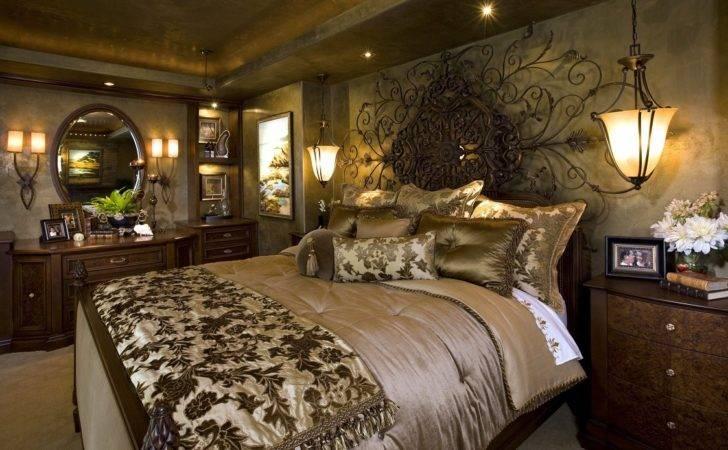 Mediterranean Home Master Bedroom Robeson Design