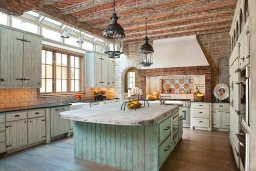 Mediterranean Kitchen Dallas General Contractors Gage Homes Inc