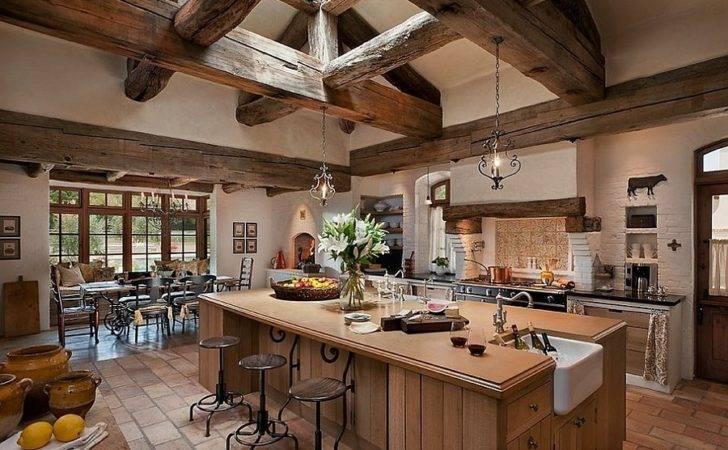 Mediterranean Kitchen Touch Luxury Design Jenkins Custom
