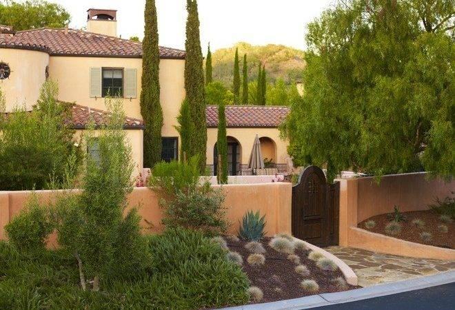 Mediterranean Landscape Jeffrey Gordon Smith Architecture