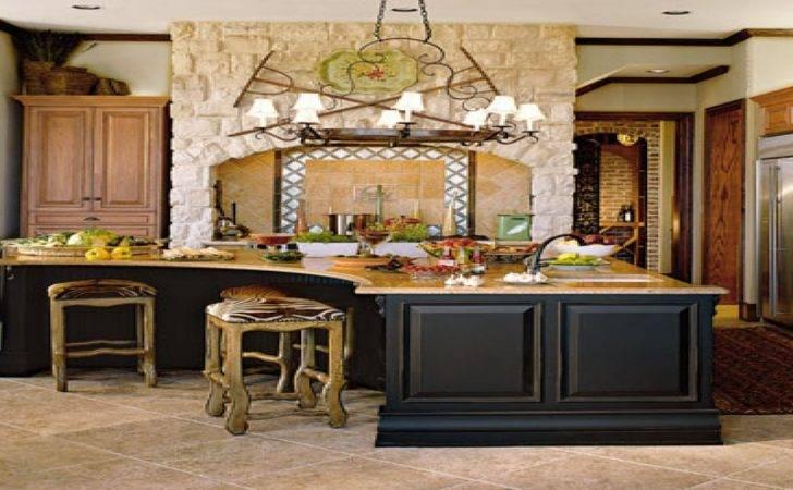 Mediterranean Style Kitchen Rustic