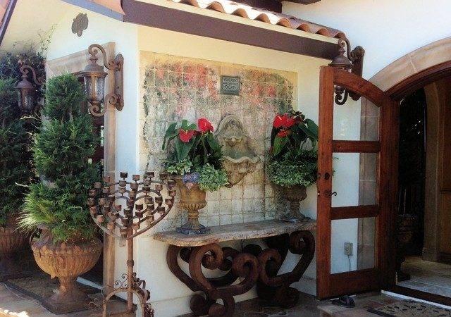 Mediterranean Villa Mexican Colonial Casita