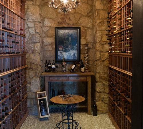 Mediterranean Wine Cellar Design Ideas Remodel Decor