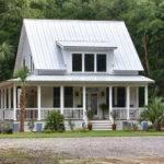 Medium Sized Custom Farmhouse Wrap Around Porch