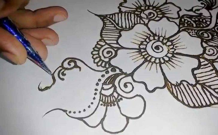 Mehndi Design Hands Beautiful Easy Simple Henna