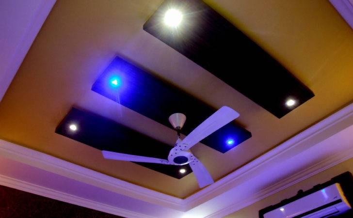 Mesmerizing White Ceiling Fan Stunning False Designs